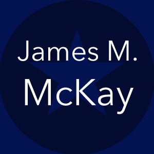 JAMES M. McKAY